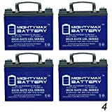 Mighty Max Battery 12V 35Ah Gel Battery Replacement for Kangaroo TG-31 Golf Cart