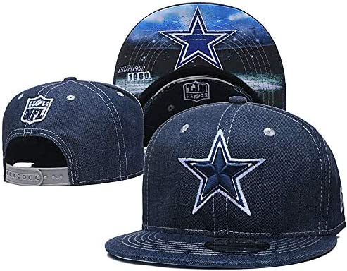 Wasin Logo Denim Fabric Baseball Hat Snapback Adjustable Unisex Fashion Baseball Cap
