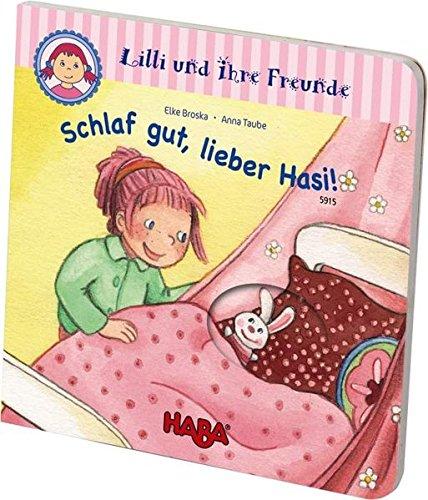 HABA 5915 - Gucklochbuch: Lilli und ihre Freunde - Schlaf gut, lieber Hasi