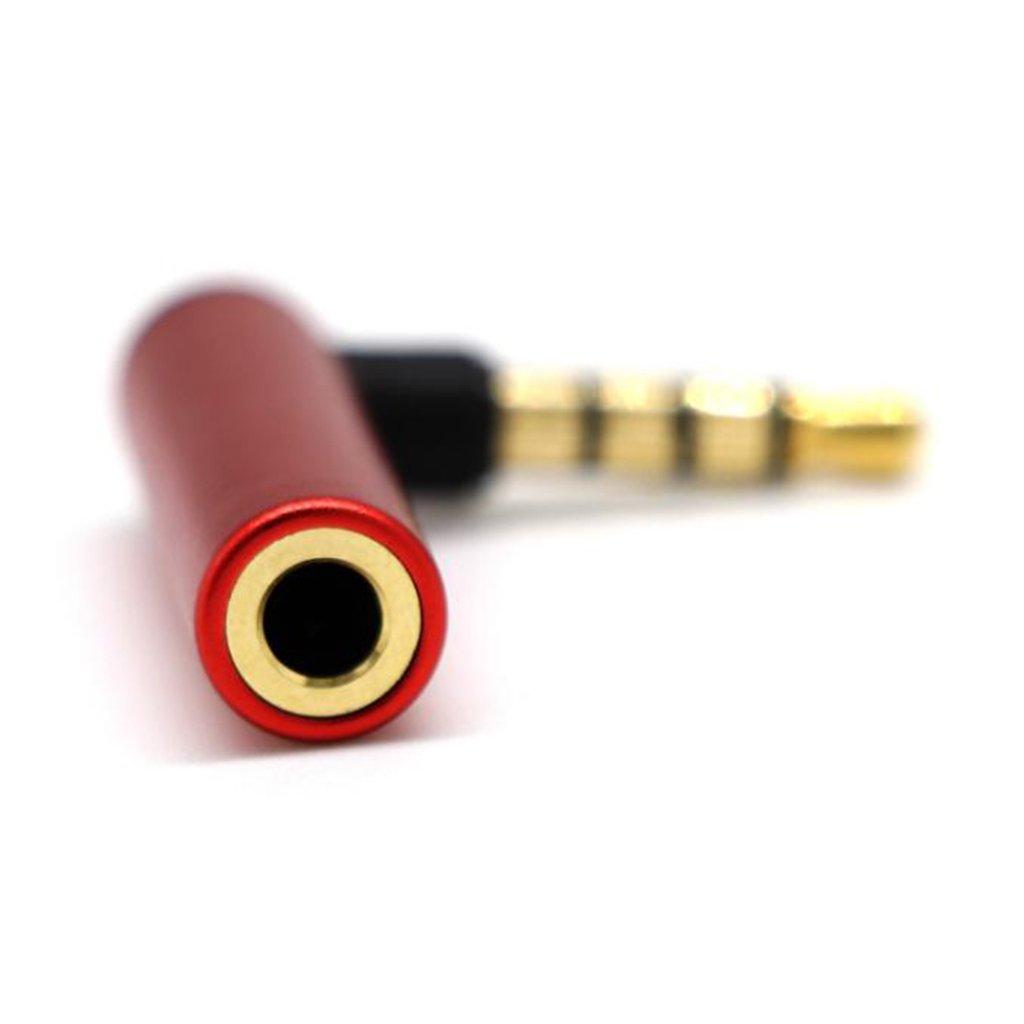 IPOTCH Conector Jack Macho a Hembra Audio M/úsica de 3,5mm AUX Adaptador
