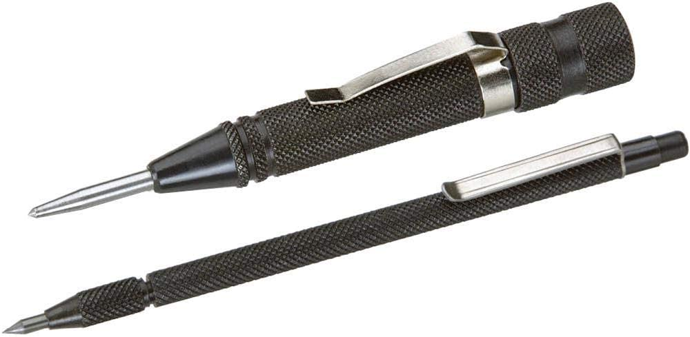 2 pc Auto Center Punch and Carbide Scriber Set Grizzly Industrial T10014