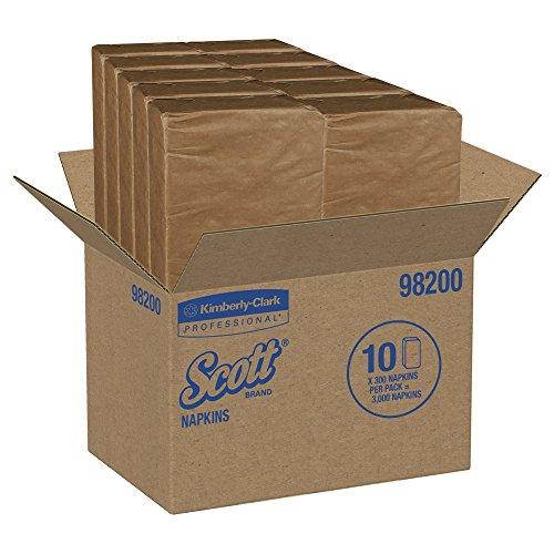 KimberlyClark Professional 98200 Scott 1/8 Fold Dinner Napkins 2 Ply White by Kimberly-Clark Professional (Image #4)