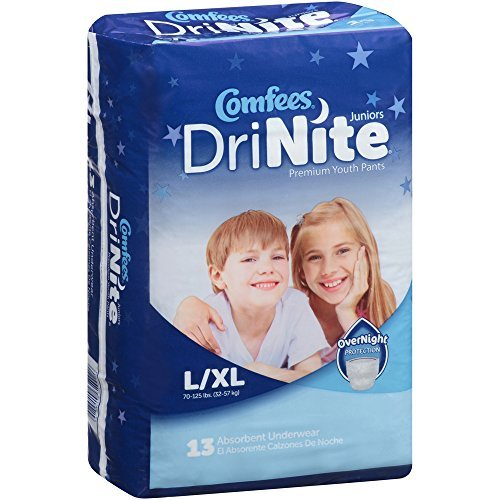 Comfees CMF-Y DriNite Juniors Youth Pants-Large/Extra Large-52/Case