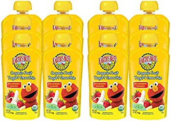 Earth's Best Organic Fruit Yogurt Smoothie, Strawberry Banana, 4.2 Ounce (Pack Of 12) 9