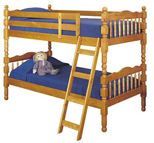 ACME 02301 Bunk Bed, Twin, Honey Oak Finish