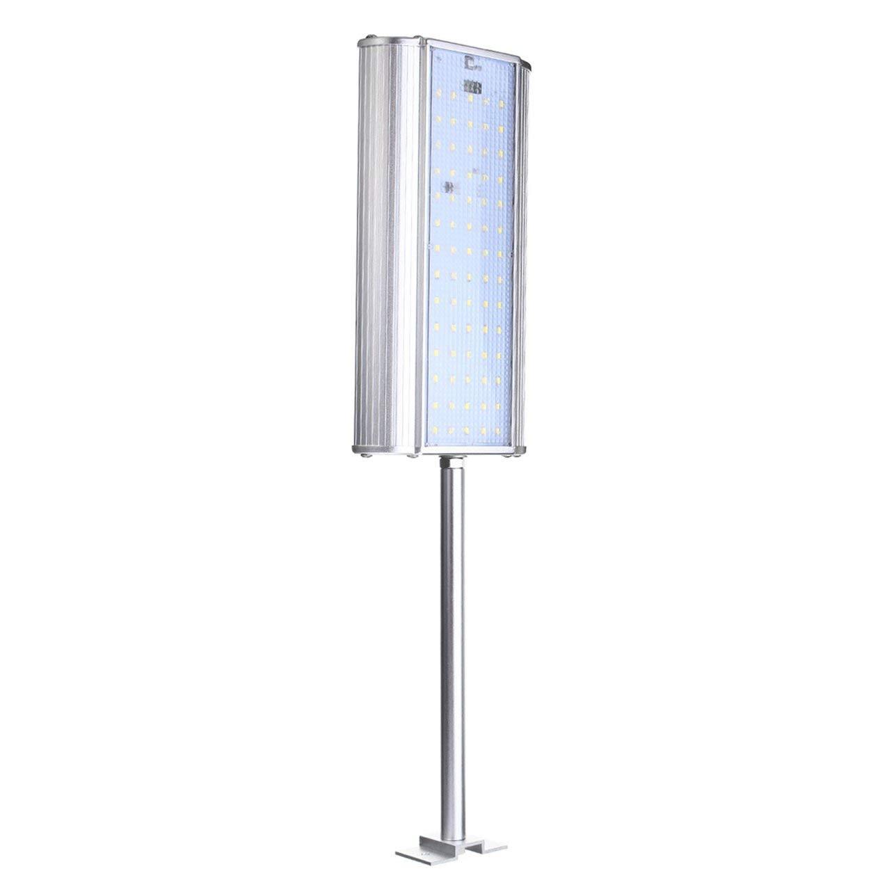 Lampada da parete per esterni da giardino con luce solare senza fili a sensore solare a 70 LED