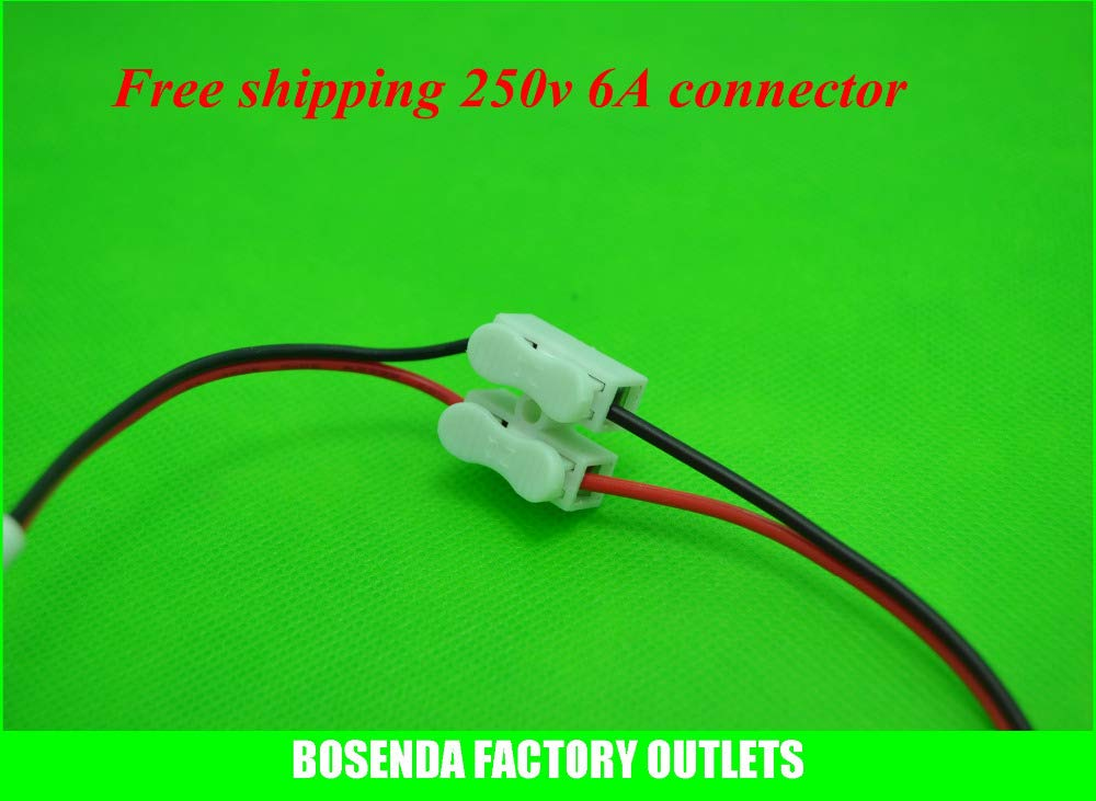Gimax BSOD 500 Pack Spring Connector for Wire,Cable, LED Strip Conneting Catcher by GIMAX (Image #4)