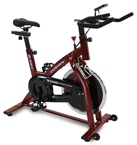 Bladez Fitness Fusion GS II Indoor Cycle, Red by Bladez Fitness