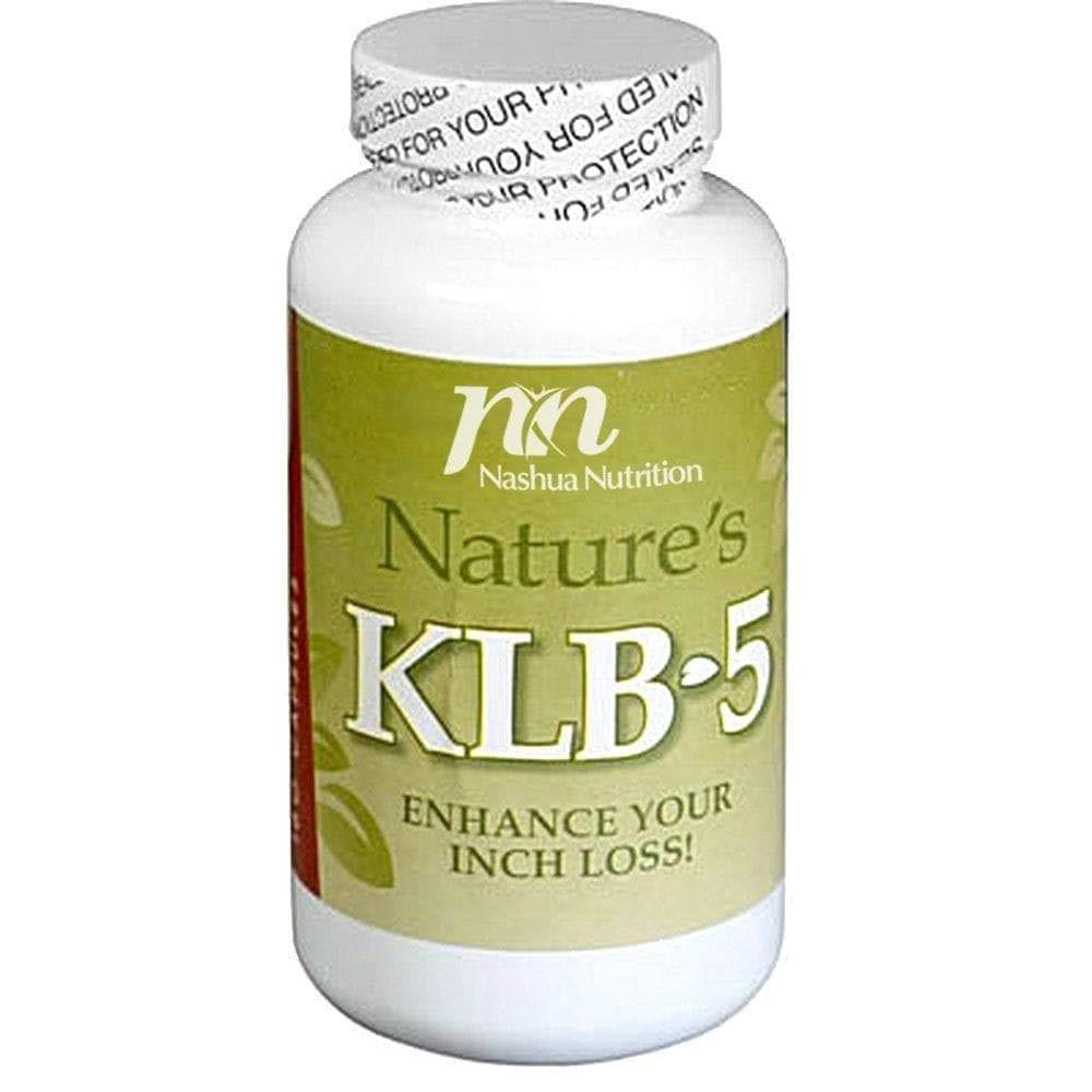 HealthSmart - Nature's KLB-5 - Diet Supplement - Enhance Inch Loss - Blue-Green Algae - Bromelain - Lecithin - Kelp - Apple Cider Vinegar - 180 Capsules by HealthSmart