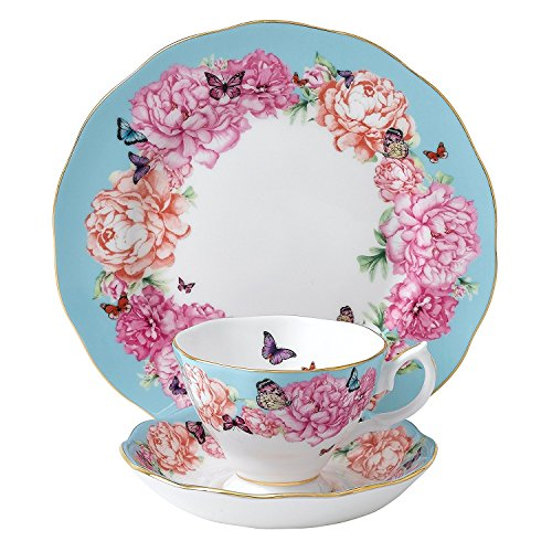 Royal Albert Devotion 3-Piece Teacup, Saucer and Plate Set Designed by Miranda Kerr by Royal Albert