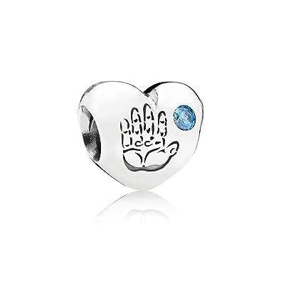 Pandora 791281CZB - Abalorio de Plata de Ley con circonita: Amazon.es: Joyería