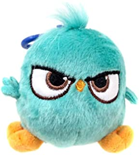 Amazon com: Angry Birds Movie Clip On Blues Plush: Toys & Games