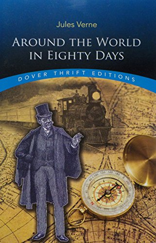 Around the World in Eighty Days (Dover Thrift Editions) (Around The World In 80 Days David Niven)