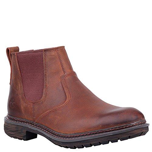 Image of Timberland Men's Logan Bay Chelsea Boot, Brown, 9.5 Medium US
