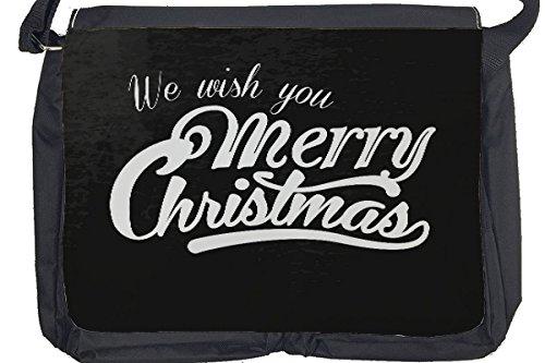 Borsa Tracolla Natale Buon Natale Stampato