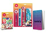 (US) Musical.ly Stationery Combo-Pack • Pencils - Pens - Eraser - 75 stickers - Notebook - Metal Pencil Case - Ruler - Sharpener