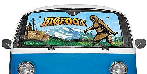 Bigfoot Novelty Auto Windshield Sunshade product image
