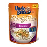 Uncle Bens Jasmine Rice, 8.5 Ounce -- 12 per case.