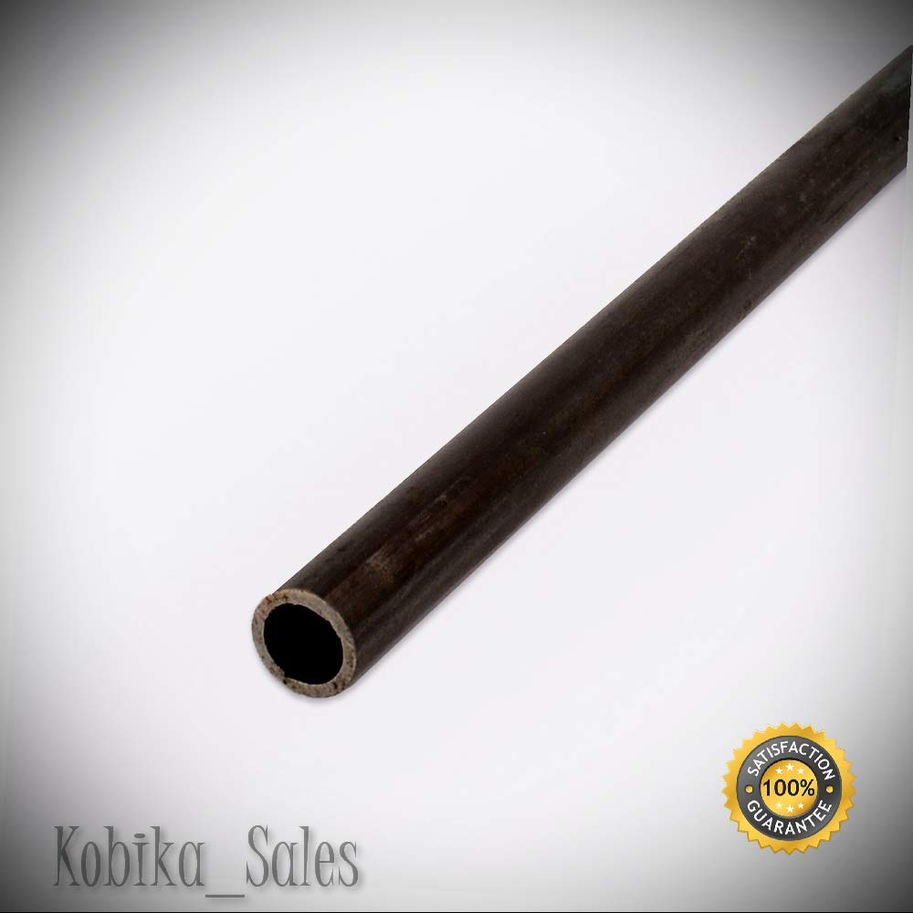 - high Ductility 1 Piece Long Schedule 40 Steel Pipe Welded Seam 1//2 x 5 Ft Ships UPS and Corrosion Resistance