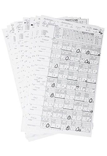 MEL STOTTLEMYRE SIGNED 1997 NY YANKEES vs MINNESOTA TWINS 3 PAGE SCORECARD SHEET