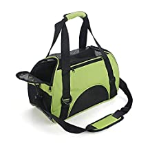 Petamo Dog Cat Travel Carrier Outdoor Tote for Pets Comfort Airline Approved Travel Soft Side Bag