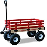 Millside Industries Wooden Express Wagon, 16-Inch X 36-Inch