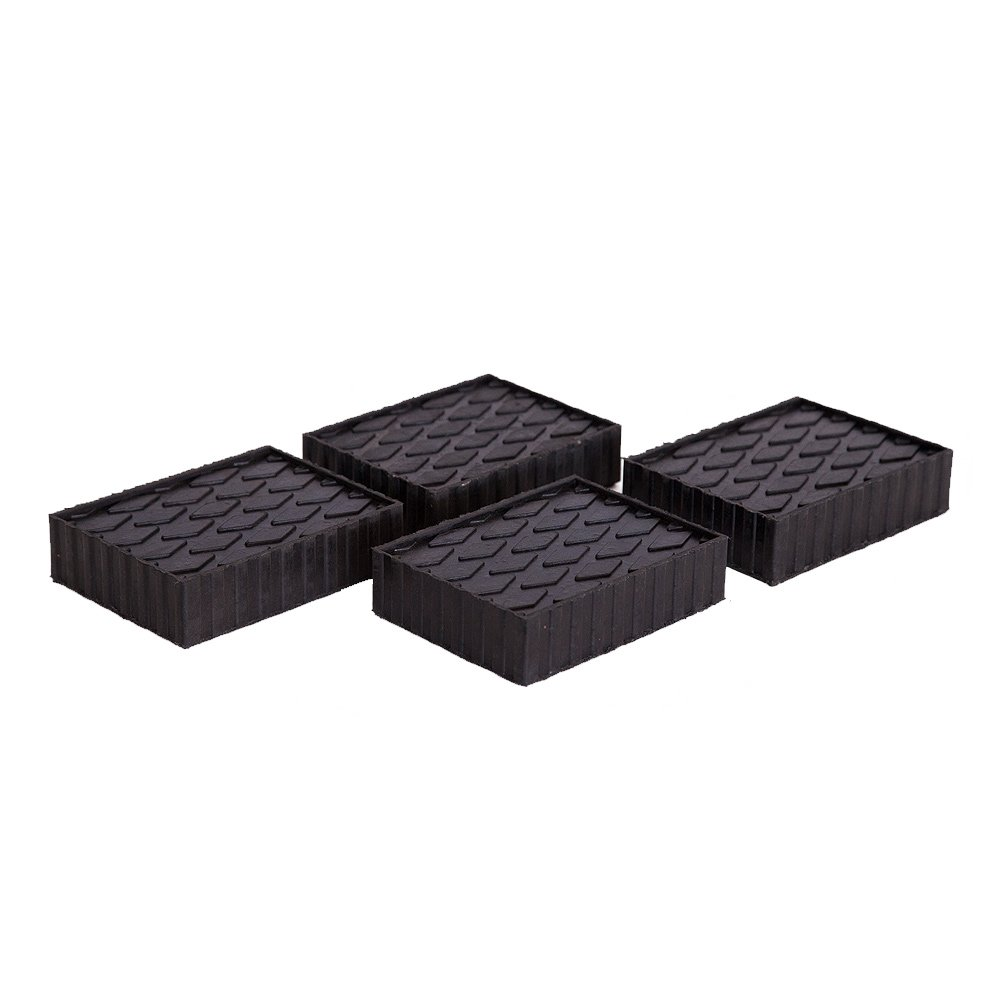 Rotary FJ2439 1-1/2'' Tall Fat Polymer Adapter Block, Set of 4 by Rotary