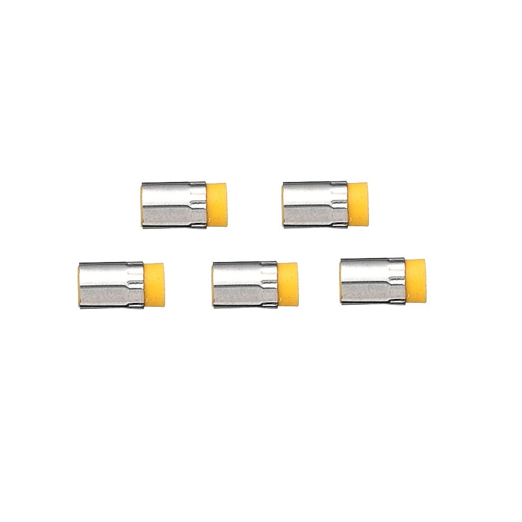 Cross Switch-It Eraser Refills, Five 0.7mm Pencil Converter Yellow Erasers Per Card (8781) by Cross (Image #2)