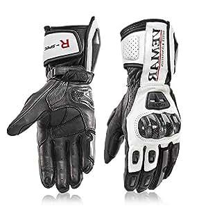Amazon.com: Motorcycle Gloves Carbon Fiber Winter Warm