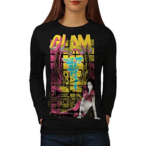Lowrider Womens Socks (Glam Girl Low Rider Women NEW M Long Sleeve T-shirt |)