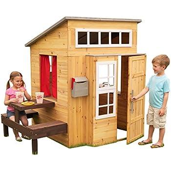 Amazoncom Backyard Discovery Timberlake All Cedar Wood Playhouse