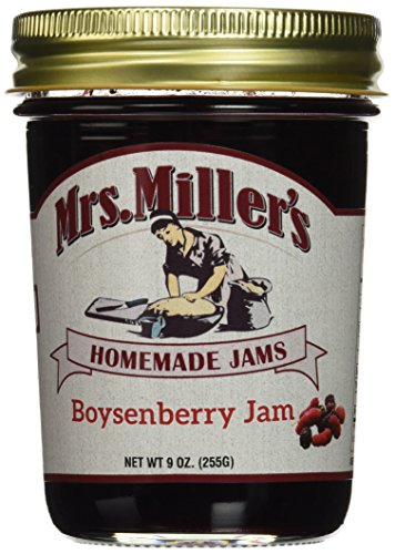 Mrs. Miller's Amish Home Made Boysenberry Jam, 9 Ounce (Pack of 2)