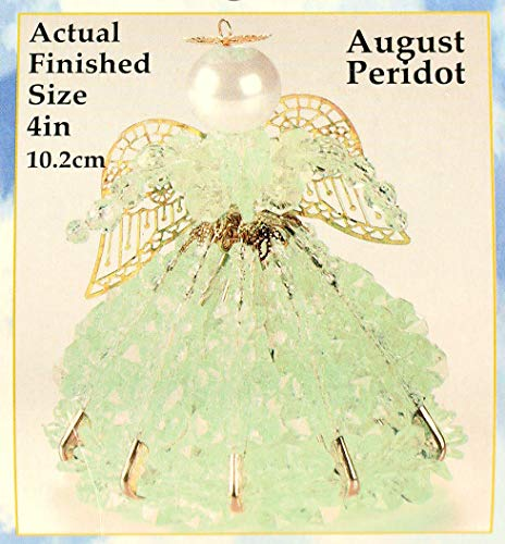 Birthstone Angel Christmas Ornament Kit 12 Colors/Months (August)