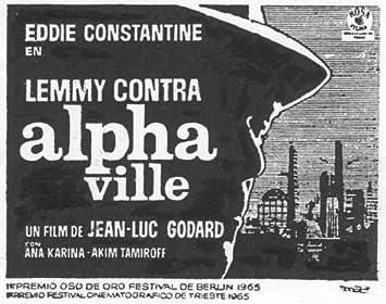 Amazon.com: Alphaville Póster de película español B 11 x 14 ...