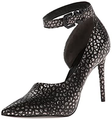 Kenneth Cole New York Women's Waverly D'Orsay Pump,Black/Pewter,6.5 M US