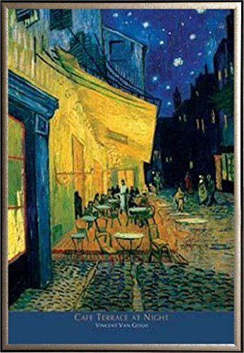 Framed Replica Art with Label - Vincent van Gogh 24x36 Poste