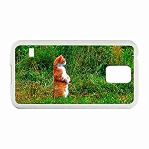 Best-Diy Personality customization Custom Fashion Design Samsung Galaxy S5 SV Back Cover case cover Personalized Customized Diy Gifts oGt7nERIjwG In back legs White By Y-inc.case