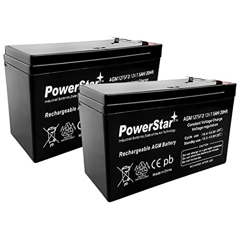 12V 7Ah Replacement for Bruno Electra-Ride Stairlifts Battery MK BATTERY ES7-12 - 2 Pack