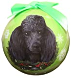 Poodle Christmas Ornament Shatter Proof Ball Easy To Personalize A Perfect Gift For Poodle Lovers