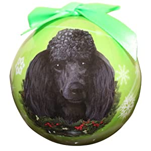 Poodle Christmas Ornament Shatter Proof Ball Easy To Personalize A Perfect Gift For Poodle Lovers 2