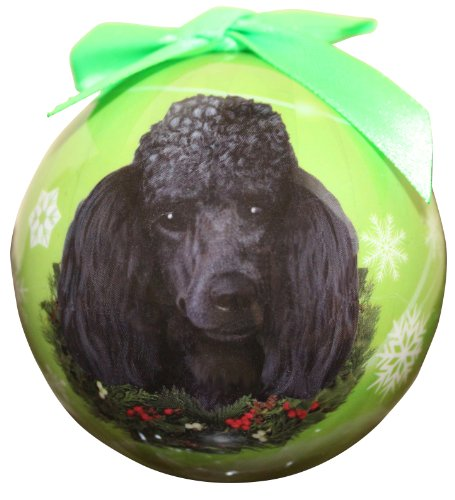 - Poodle Christmas Ornament Shatter Proof Ball Easy To Personalize A Perfect Gift For Poodle Lovers