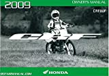 31GFW630 2009 Honda CRF80F Motorcycle Owners Manual
