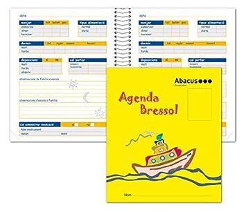 AGENDA GUARDERIA ABACUS CAT: Amazon.es: Oficina y papelería