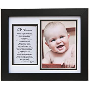 Amazon.com: The Grandparent Gift Frame Wall Decor, First Grandson: Baby