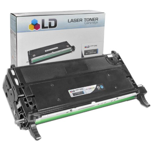 LD © Xerox Phaser Compatible High Capacity Black 113R00726 Laser Toner Cartridge for use in the Phaser 6180, 6180DN, 6180MFP, 6180MFP/D, 6180MFP/N & 6180N - 113r00726 Laser