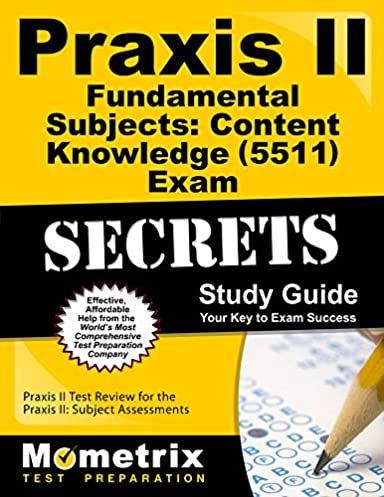 praxis ii fundamental subjects content knowledge 5511 exam rh amazon com English Study Guide Art Praxis II Paintings 0134