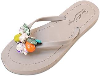 ab658faaedddc Sand by Saya Women s Sandals by Comfy Crystal Chic for Beach wear
