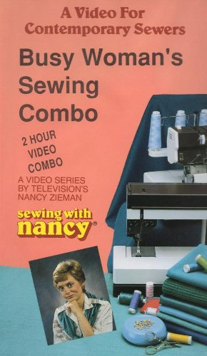 Sewing with Nancy: Busy Woman's Sewing Combo [VHS] ()
