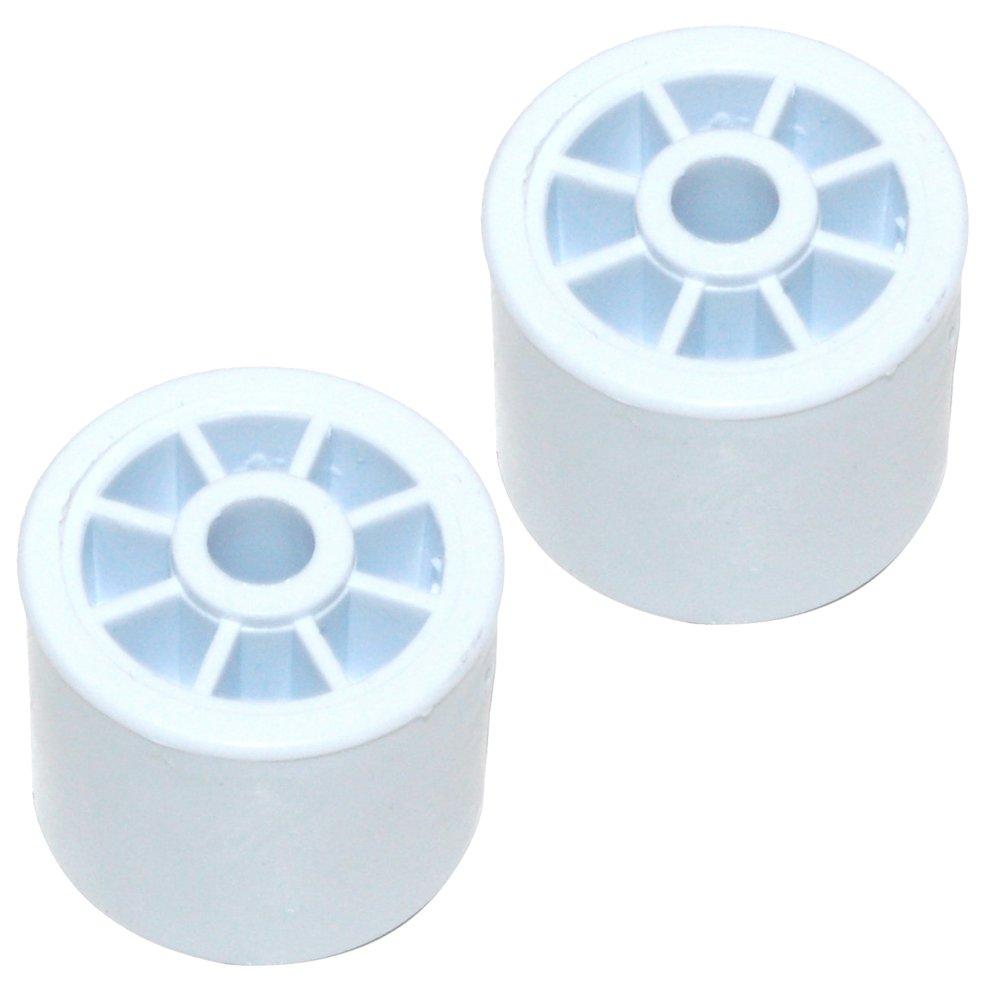 Spares2go rodillo de rueda trasera para Indesit Nevera Congelador ...