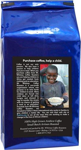 Mt. Whitney, 5 Lb, USDA Organic, Mammoth Espresso, Whole Bean, Dark Roast, Arabica Coffee, Packed in Nitrogen for Feshness